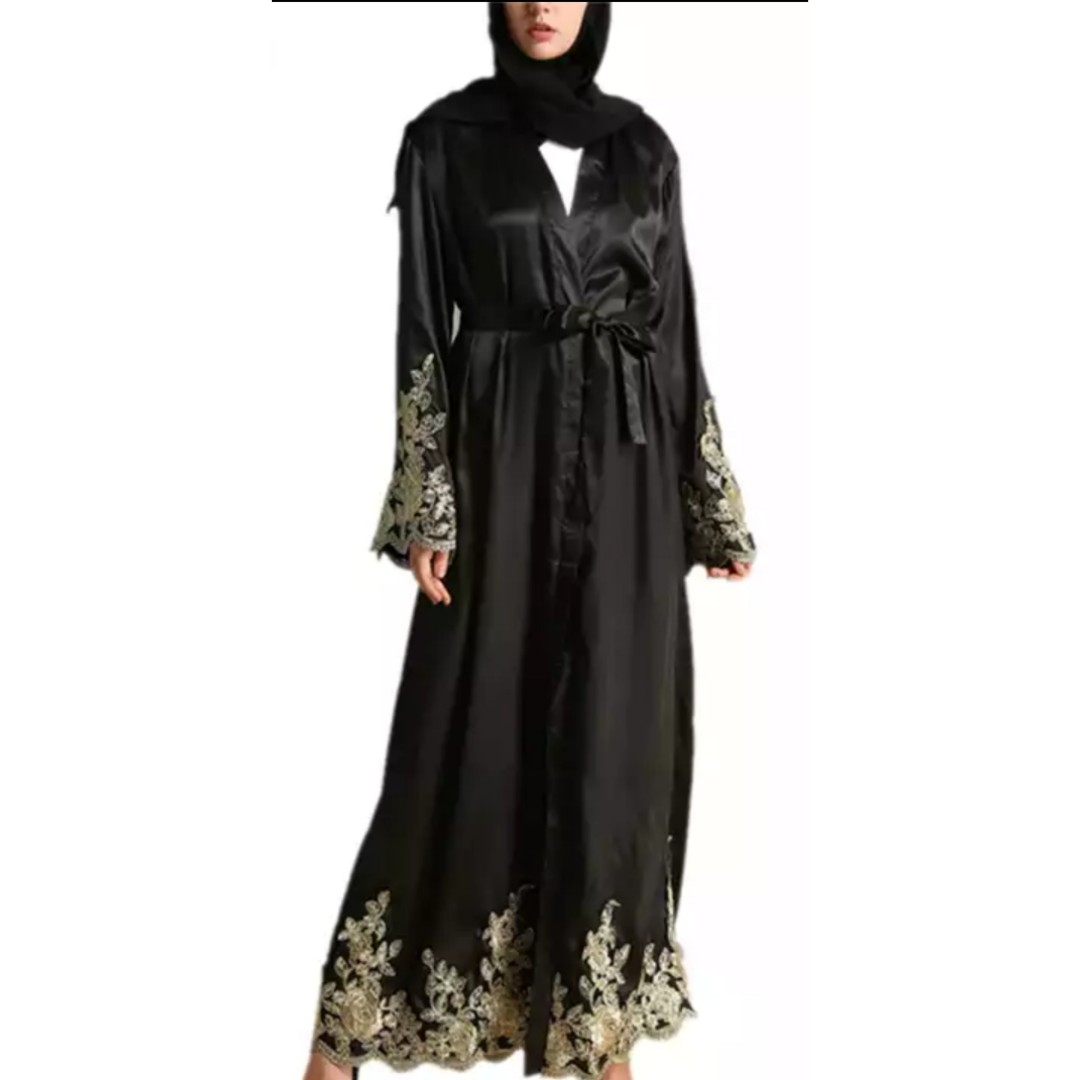Abaya Embroidery Patterns Dubai Abaya Womens Fashion Clothes Others On Carousell