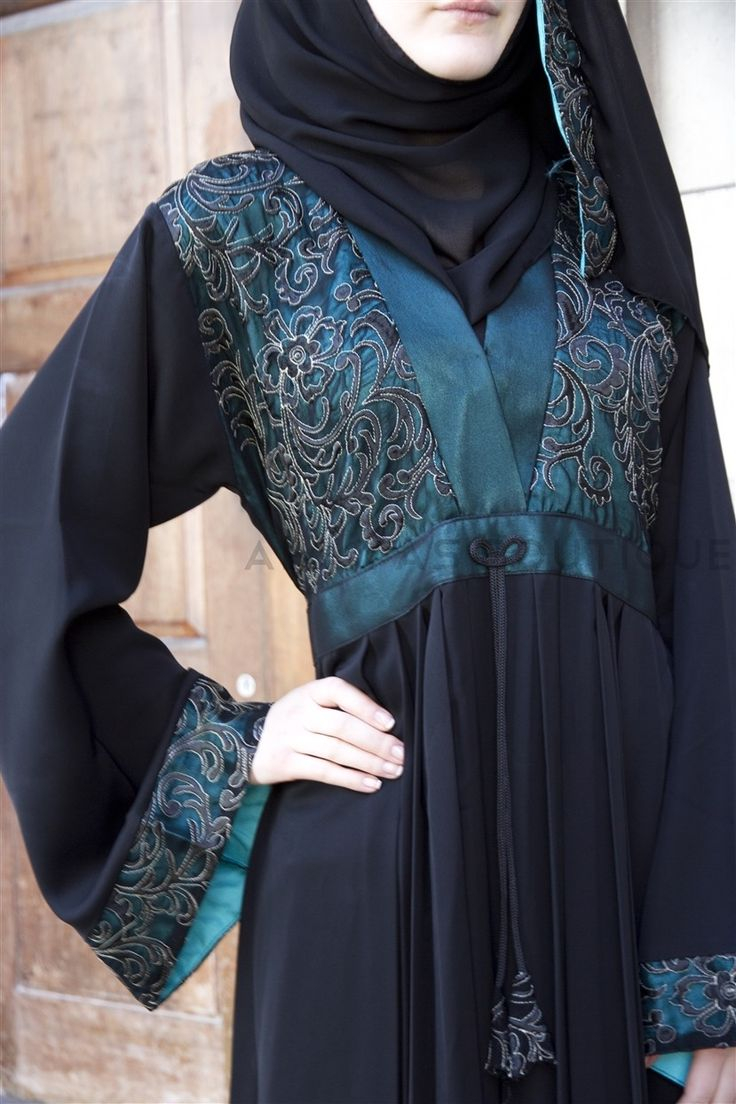 Abaya Embroidery Patterns Fancy Lace Embroidered Abaya Designs Latest Collection 2019 2020