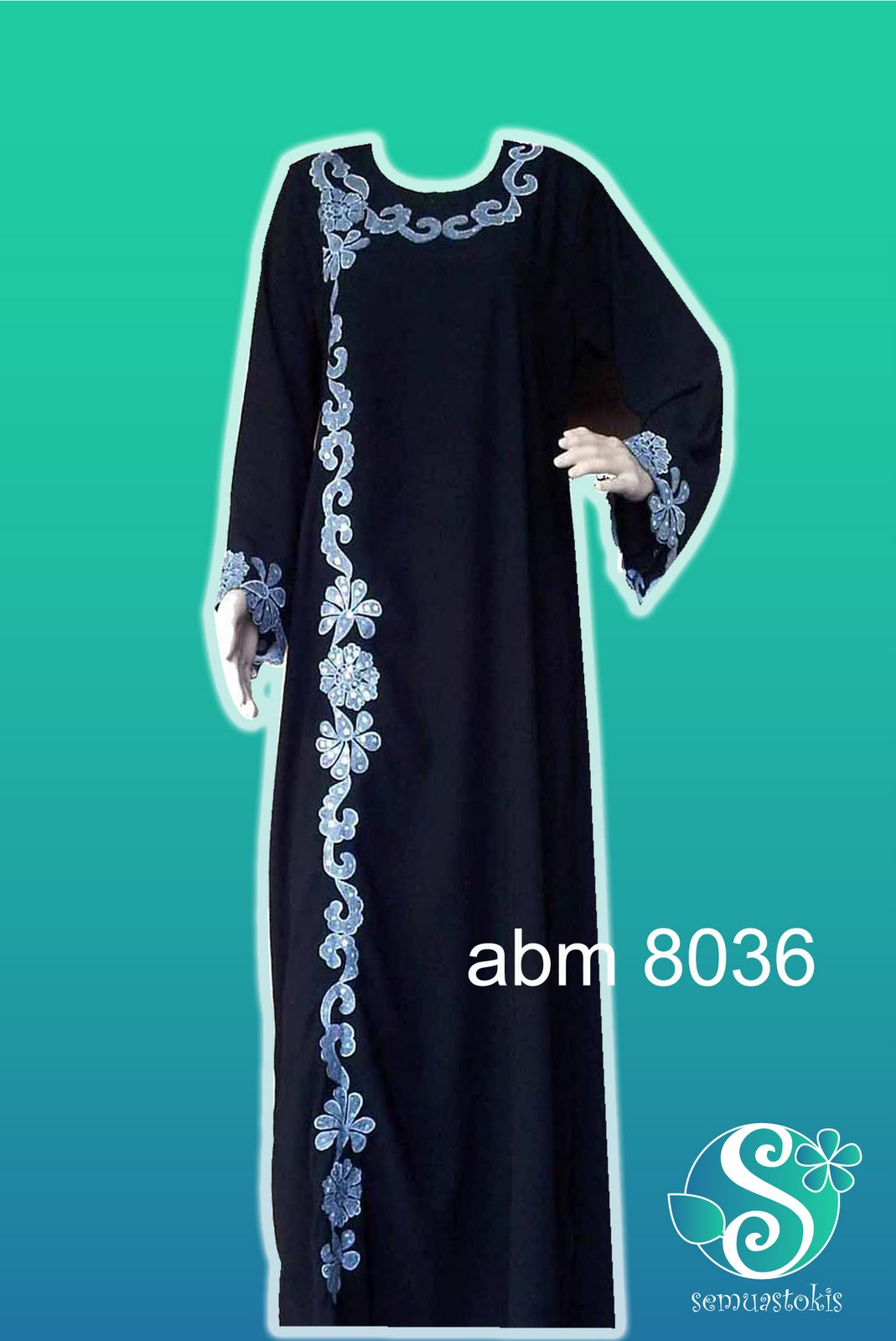 Abaya Embroidery Patterns Global Stokis Marketing Abaya