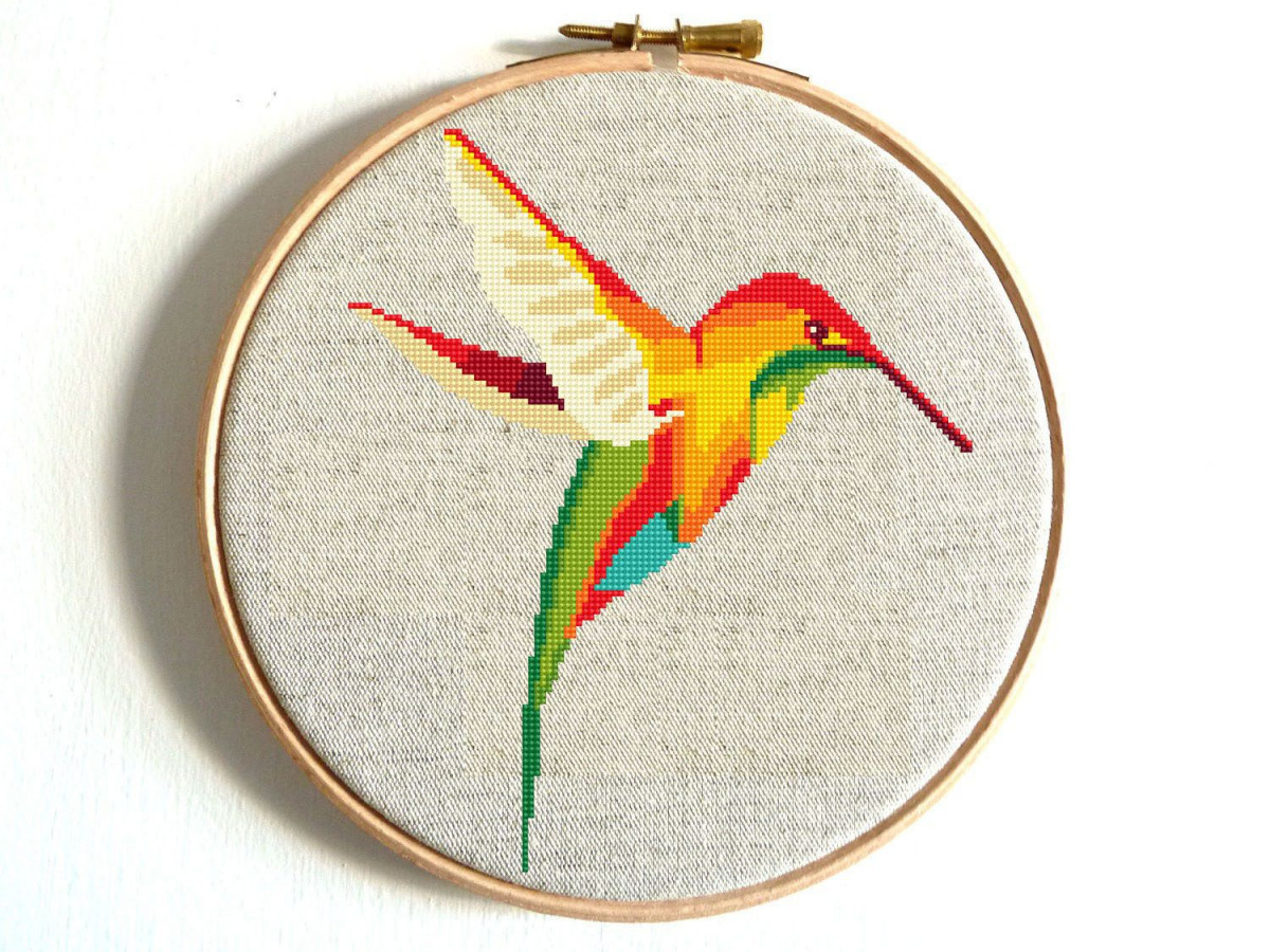 Bird Embroidery Pattern Ba Embroidery Easy Luxury Hummingbird Cross Stitch Pattern Bird