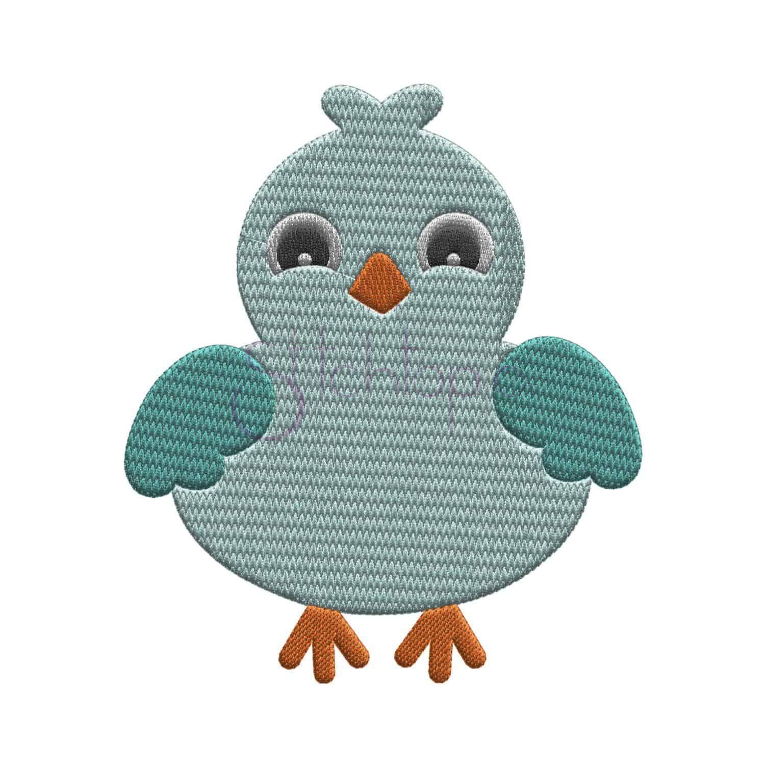 Bird Embroidery Pattern Bird Embroidery Design Boy