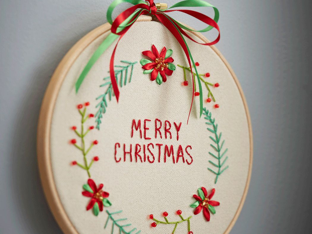 Christmas Hand Embroidery Patterns 10 Free Christmas Hand Embroidery Patterns
