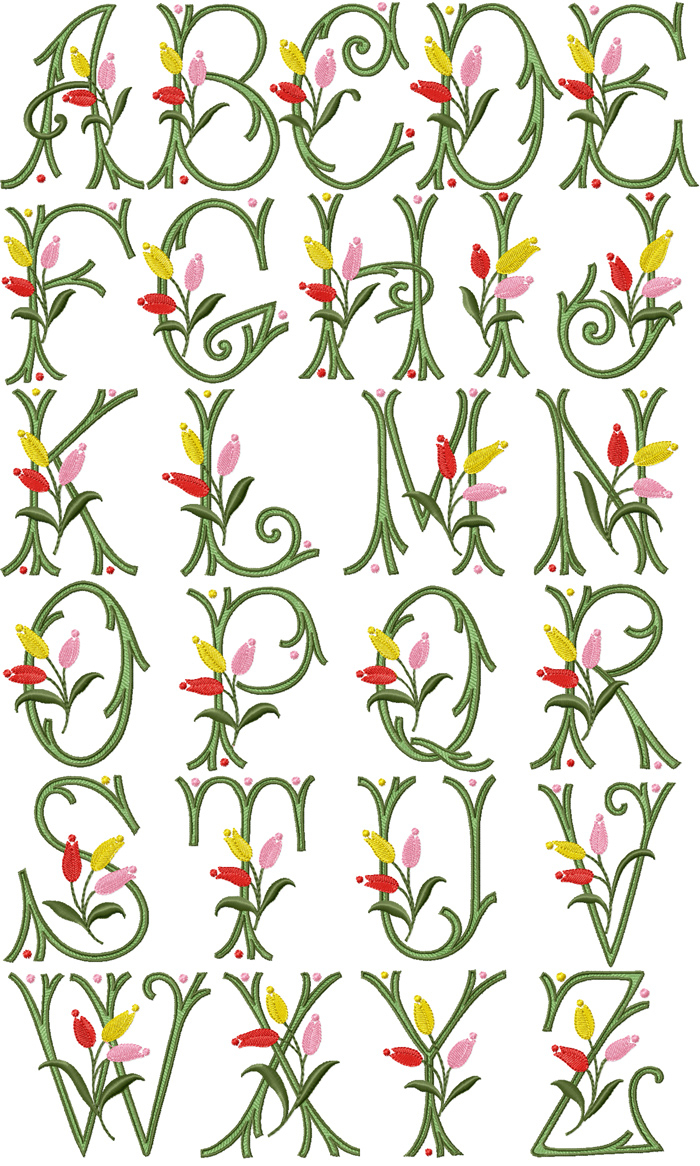 Embroidery Alphabet Patterns 14 Machine Embroidery Designs Applique Alphabet Images Free