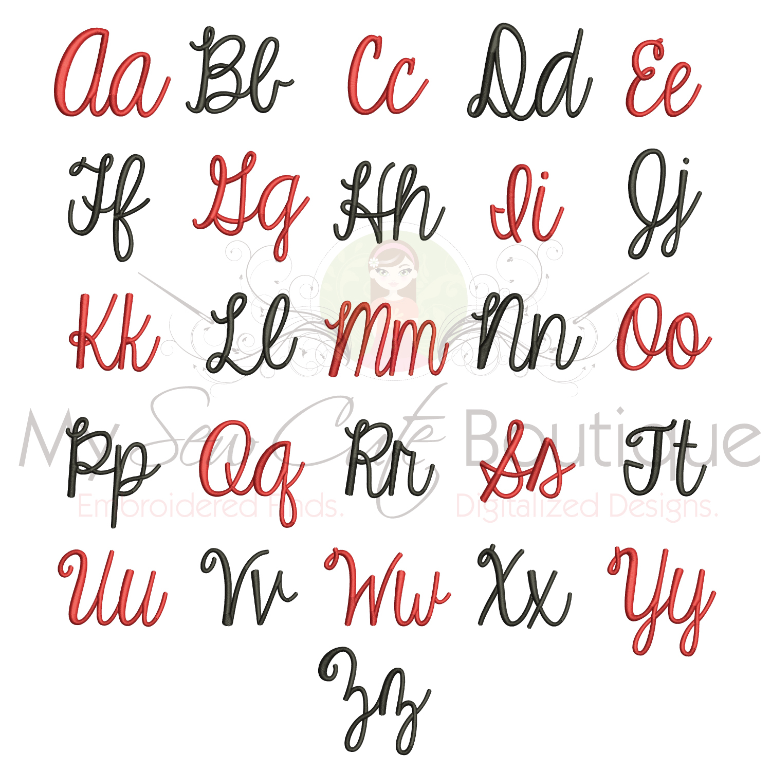Embroidery Alphabet Patterns Embroidery Fonts Designs For Bx Machine Monogram Pes Files Embrilliance Font Bx Monogram Embroidery Fonts 10 Sizes Instant Download