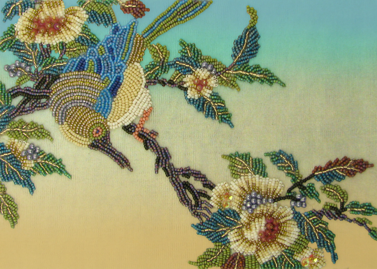 Embroidery Bird Patterns Bead Embroidery Tutorials And Designs Beads East
