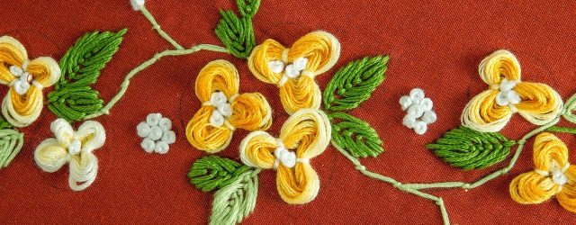 Embroidery By Hand Patterns Easy Diy Flower Hand Embroidery Pattern Handiworks