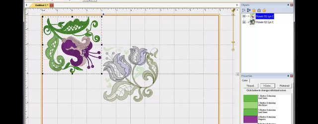 Embroidery Pattern Software How To Combine Embroidery Designs In Embrilliance Essentials Software