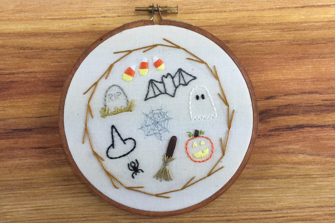 Embroidery Sampler Patterns Free Free Pattern Halloween Sampler Pattern Random Acts Of Amy