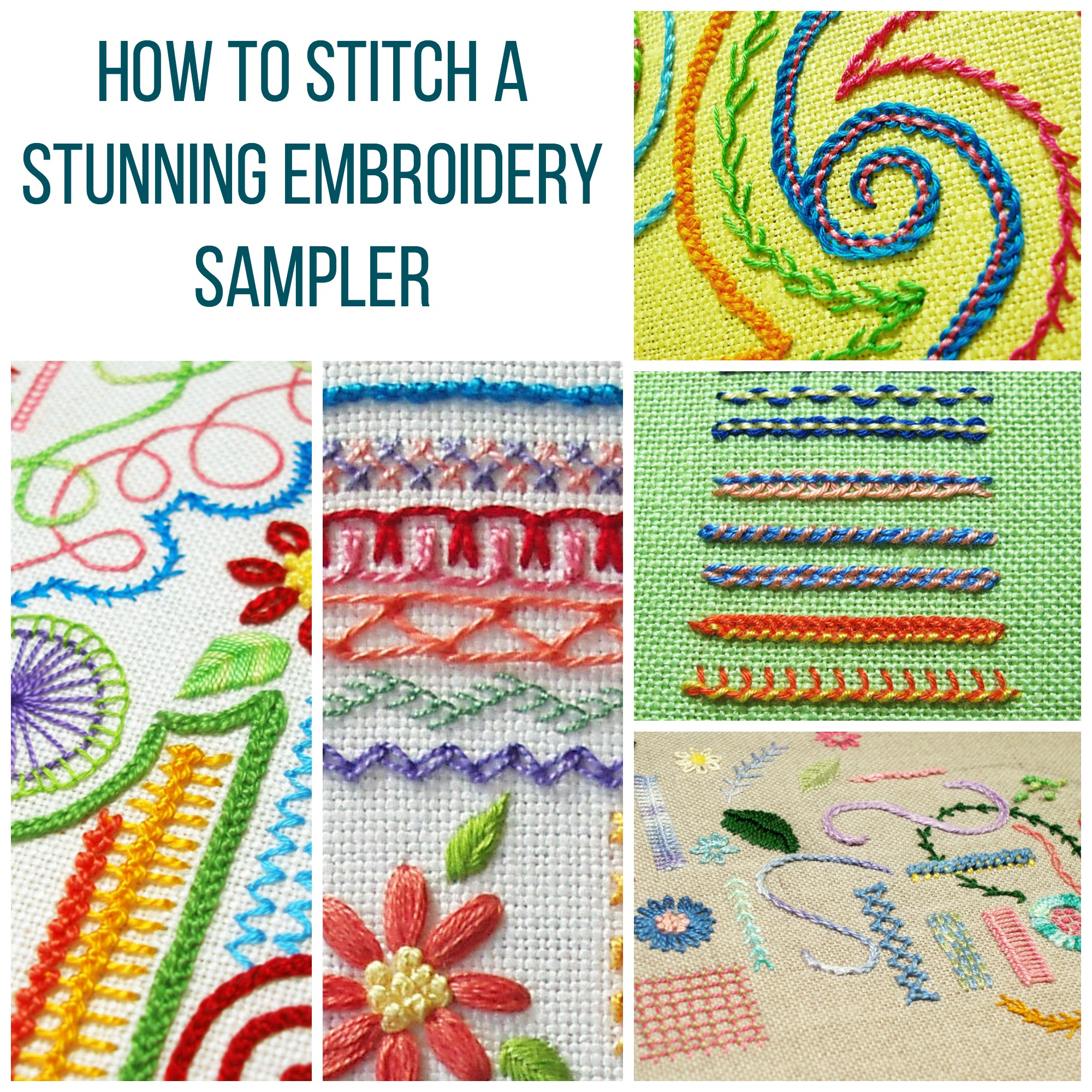 Embroidery Sampler Patterns Free Show Off Your Stitching With A Stunning Embroidery Sampler