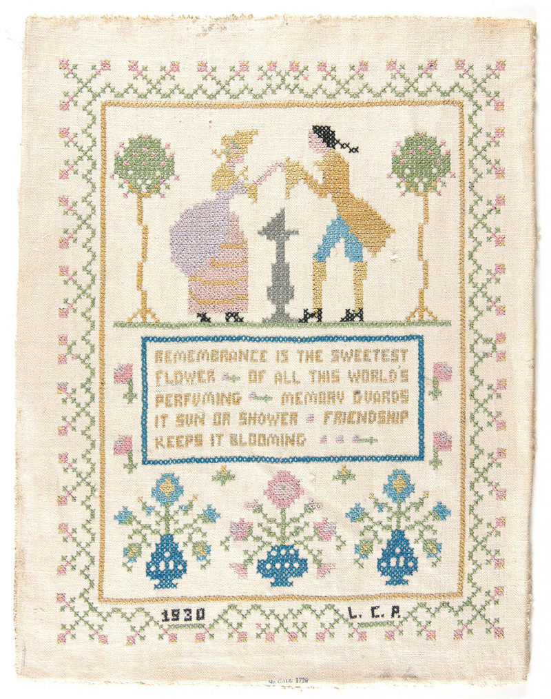 Embroidery Sampler Patterns Free Why A Museum Owns A Chocolate Companys Embroidery Collection