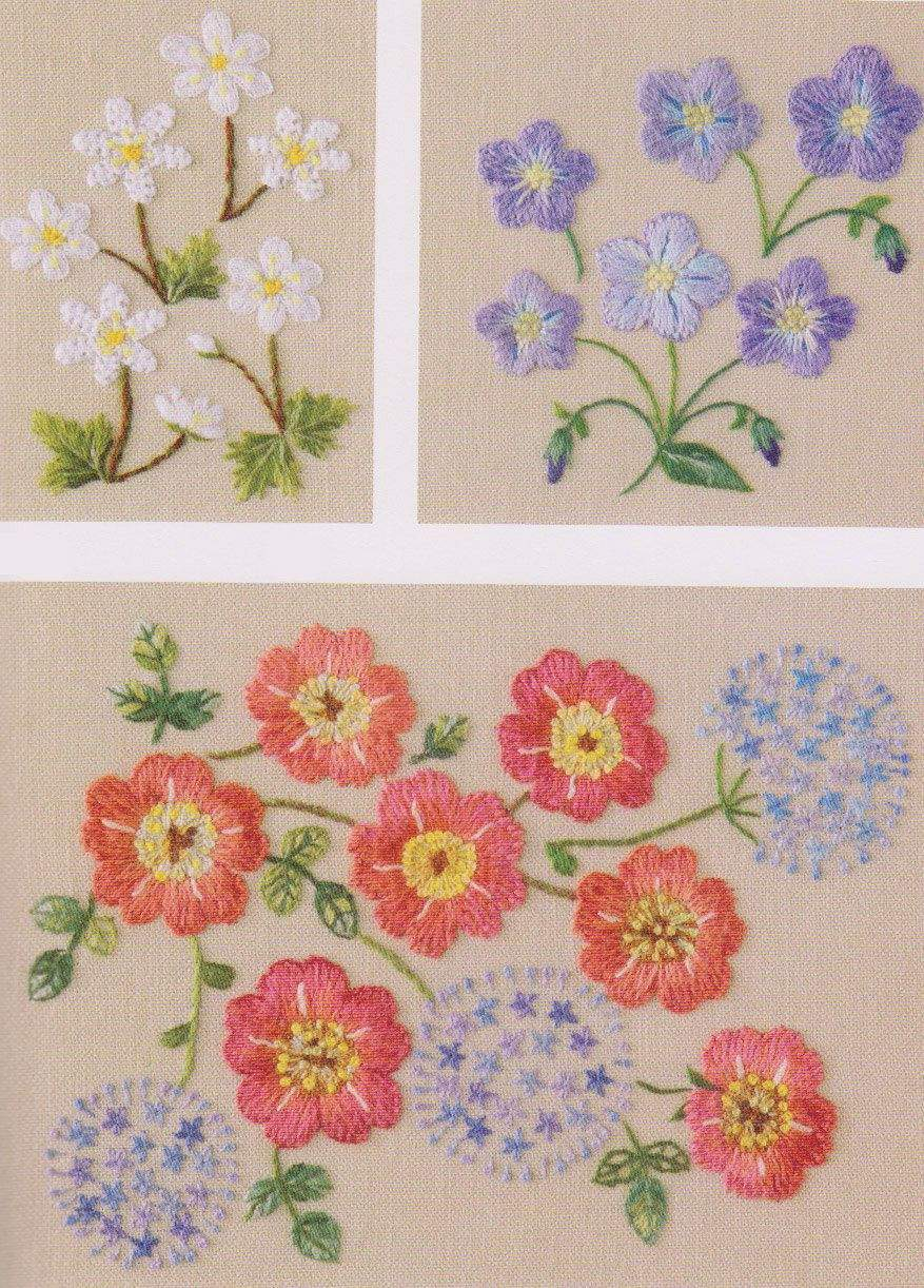 Free Flower Embroidery Patterns New Hand Stitch Embroidery Patterns Free Embroidery Patterns Hand