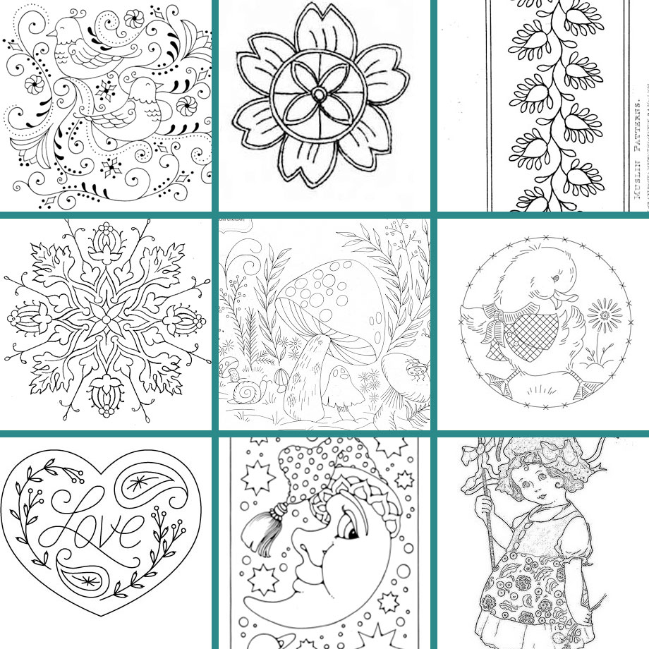 Free Flower Embroidery Patterns Weekend Inspiration Free Embroidery Designs Muse Of The Morning