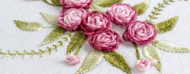 Hand Embroidery Flowers Patterns Hand Embroidery Stitch Your Flower Patterns With Handiworks