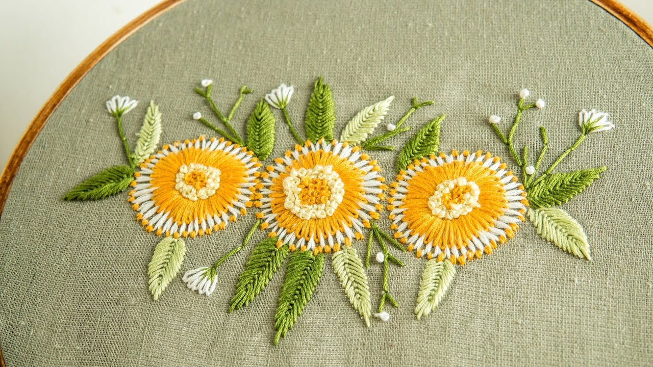 How To Design Embroidery Patterns By Hand New Hand Embroidery Design Your Own Style Of Art Handiworks