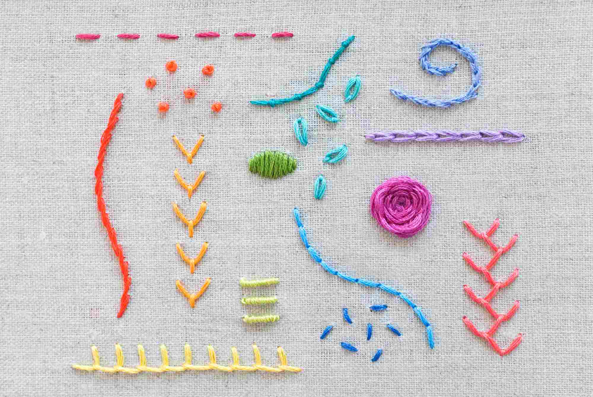 How To Make An Embroidery Pattern 15 Stitches Every Embroiderer Should Know