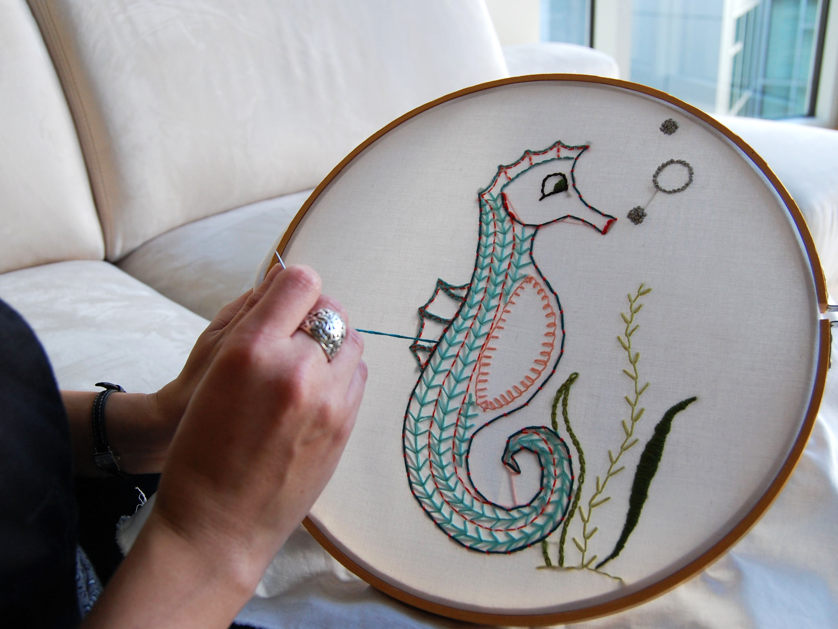 How To Make An Embroidery Pattern Embroidery 101 Make