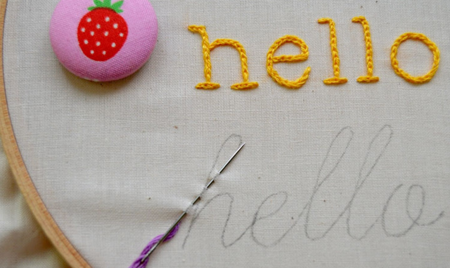How To Make Embroidery Patterns 4 Surprisingly Easy Stitches For Perfect Hand Embroidered Letters