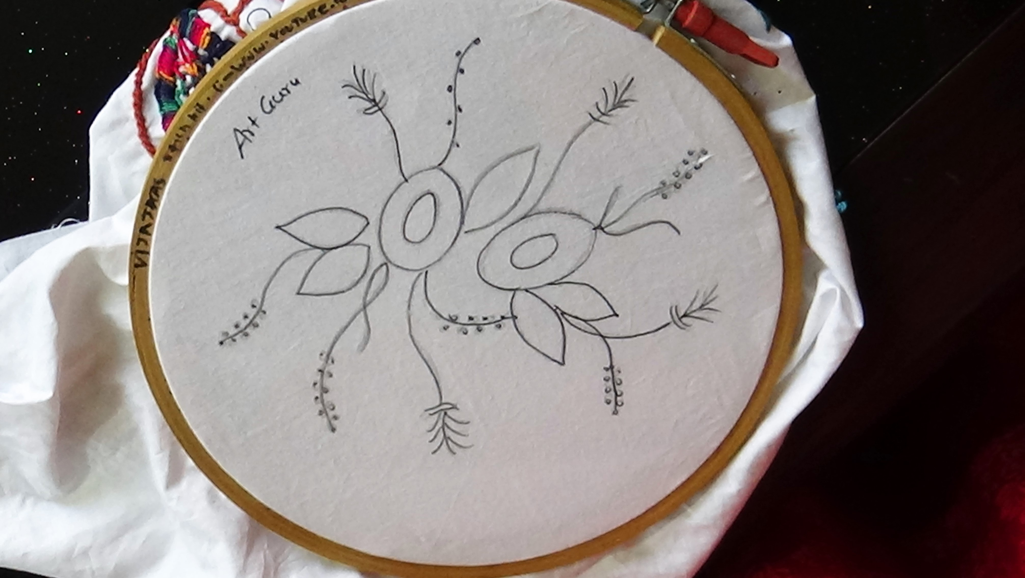 How To Make Embroidery Patterns Embroidery Designs Drawing At Paintingvalley Explore