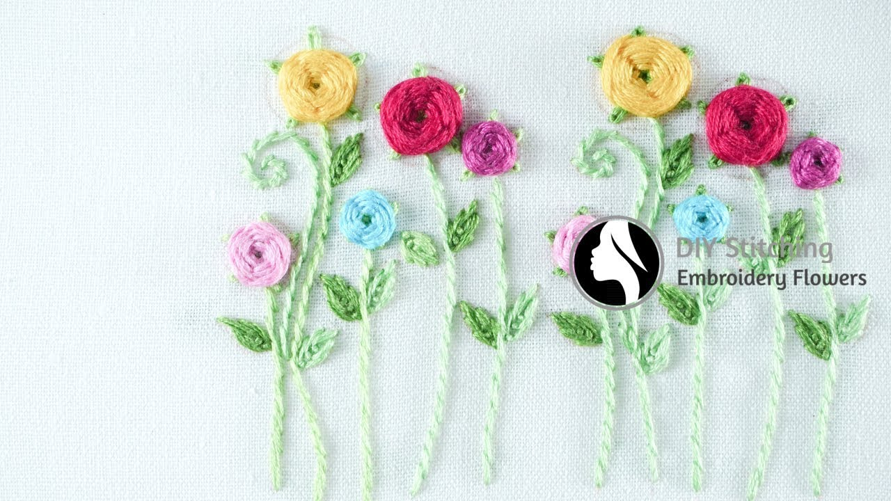 How To Make Embroidery Patterns Hand Embroidery For Beginners Easy Embroidery Tutorial Diy Stitching 21