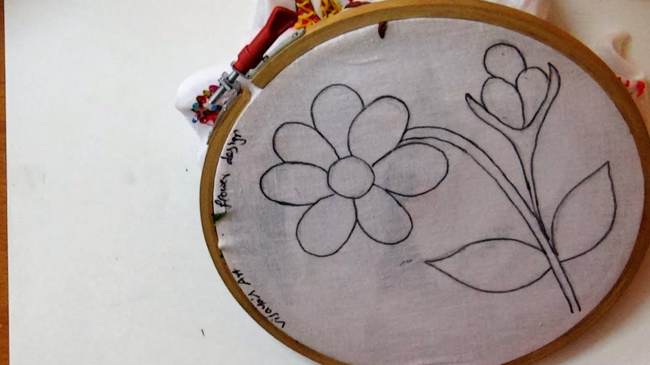 How To Make Embroidery Patterns Sketch Design Beautiful And Simple Embroidery Designs