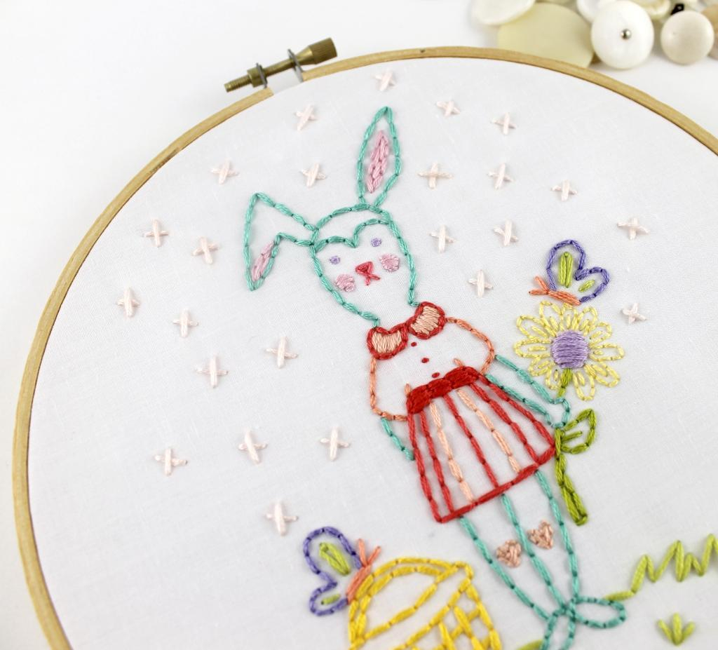 How To Make Hand Embroidery Patterns 8 Cute Animal Patterns For Hand Embroiderers And Cross Stitchers