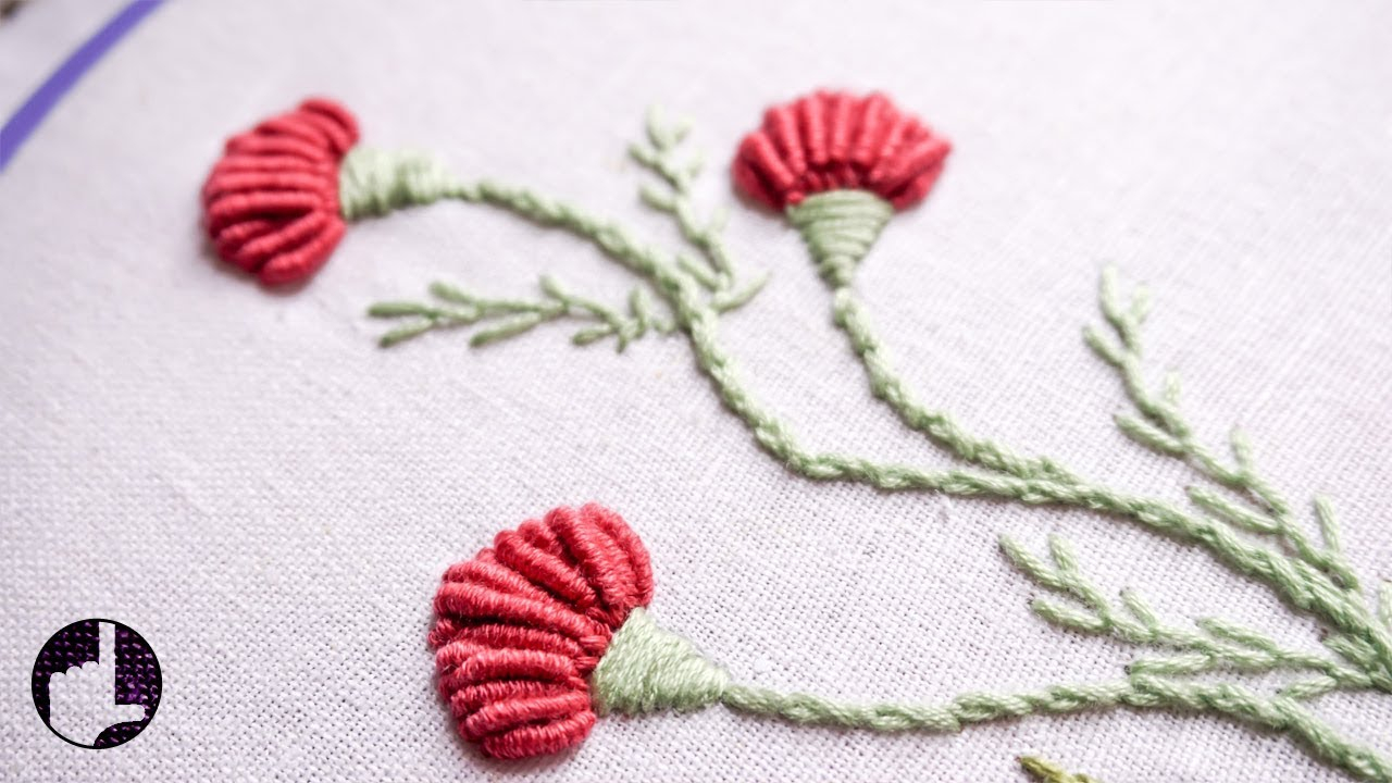 How To Make Hand Embroidery Patterns Hand Embroidery Flower Designs For Dresses Handiworks 56
