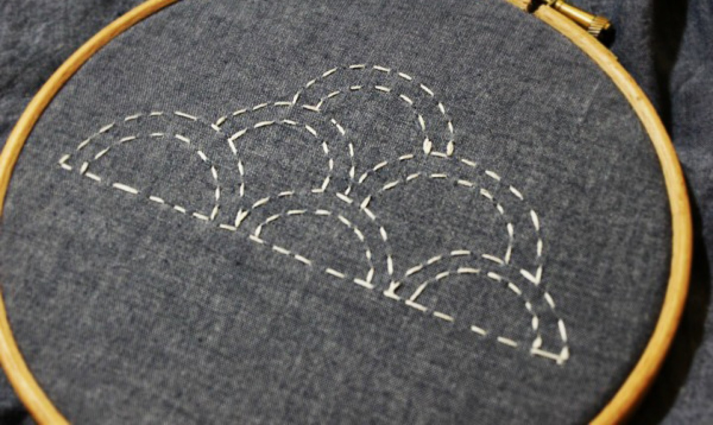 How To Make Hand Embroidery Patterns Learn Simple Sashiko Embroidery With This Whimsical Cloud Pattern