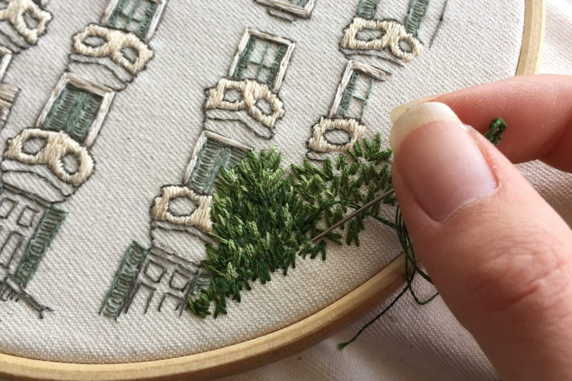 How To Make Your Own Embroidery Pattern How To Do Embroidery Free Video Library Charles And Elin