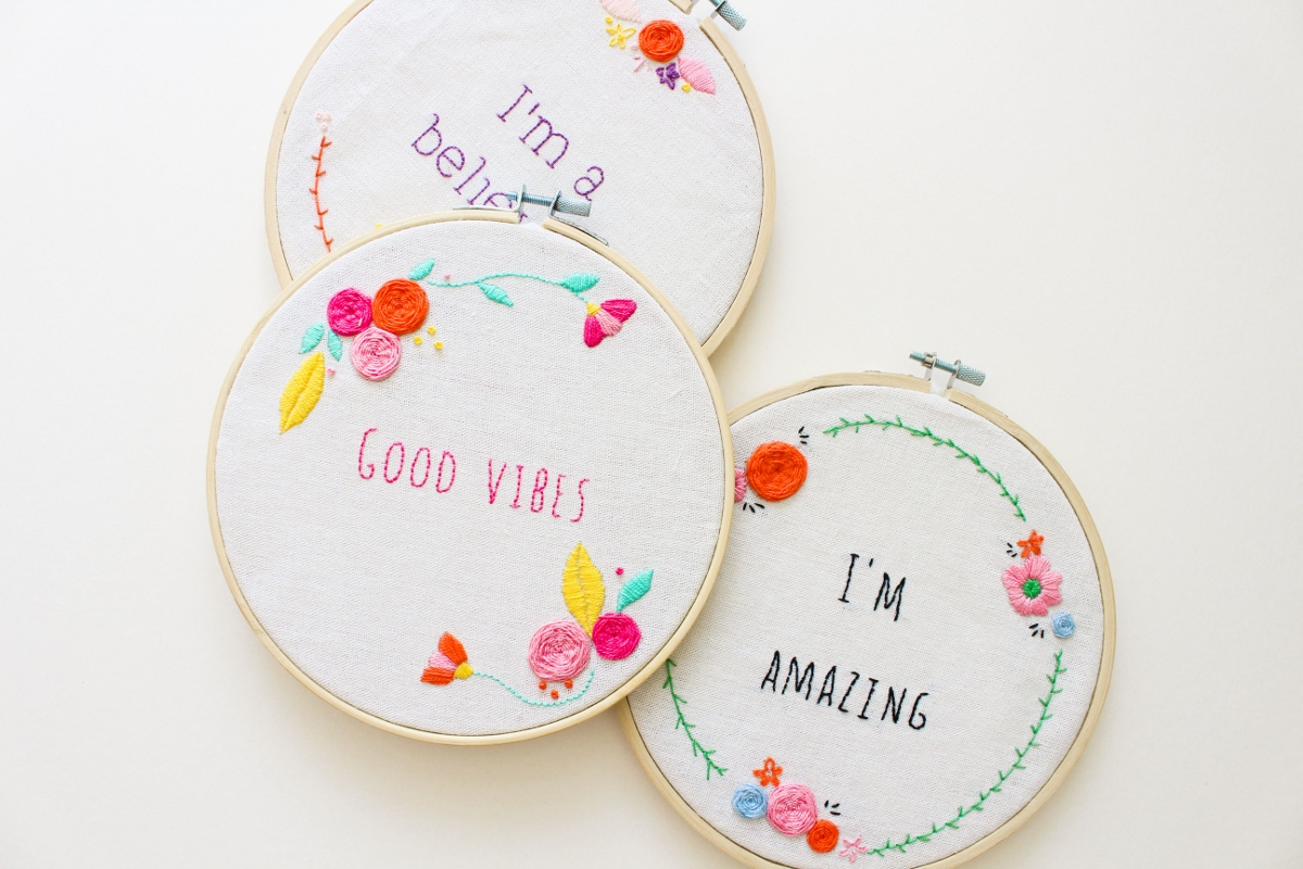 How To Make Your Own Embroidery Pattern Tata Sol 6 Basic Embroidery Stitches For Beginners