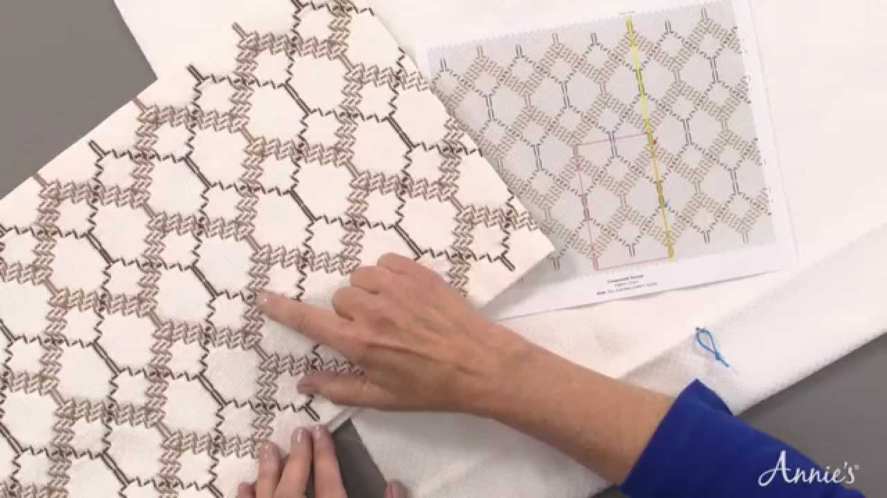 Huck Embroidery Patterns Free Swedish Weaving Huck Embroidery Made Easy An Annies Video Class