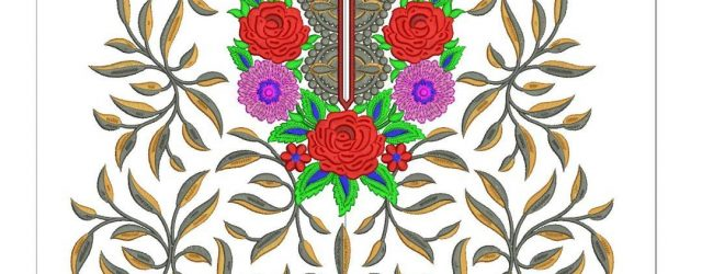 Indian Embroidery Patterns & Design New Indian Embroidery Suit Designs