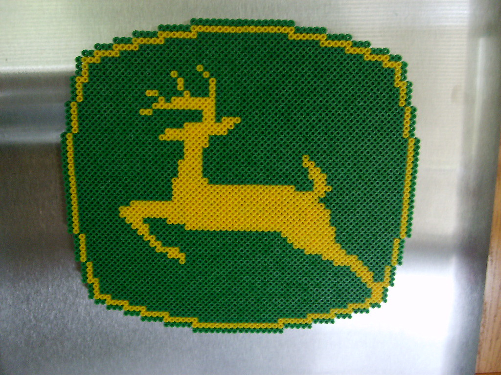 John Deere Embroidery Patterns John Deere Logo For My Dad For Fathers Day Shane Flickr