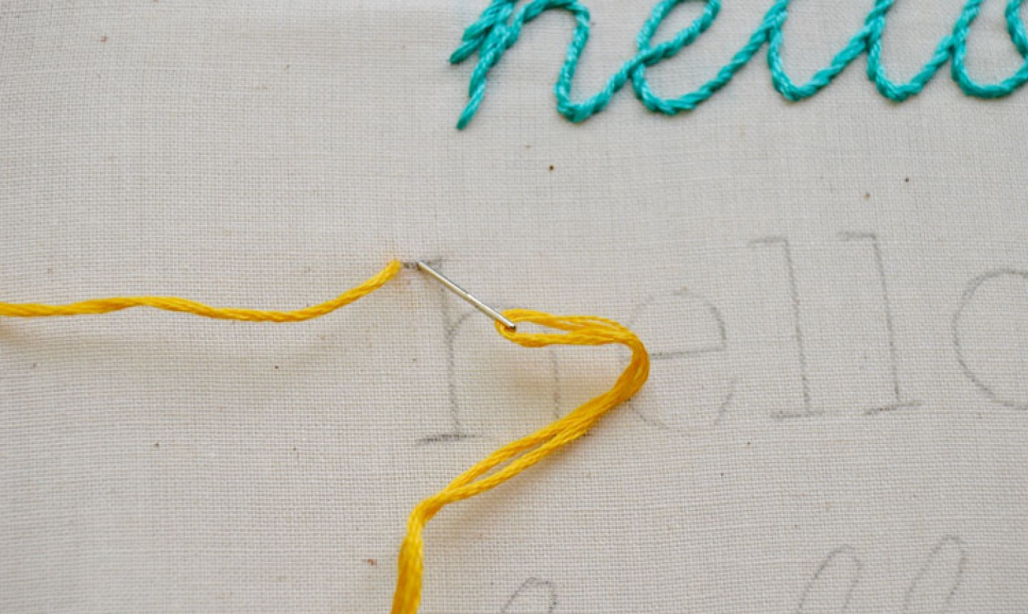 Make Embroidery Pattern 4 Surprisingly Easy Stitches For Perfect Hand Embroidered Letters