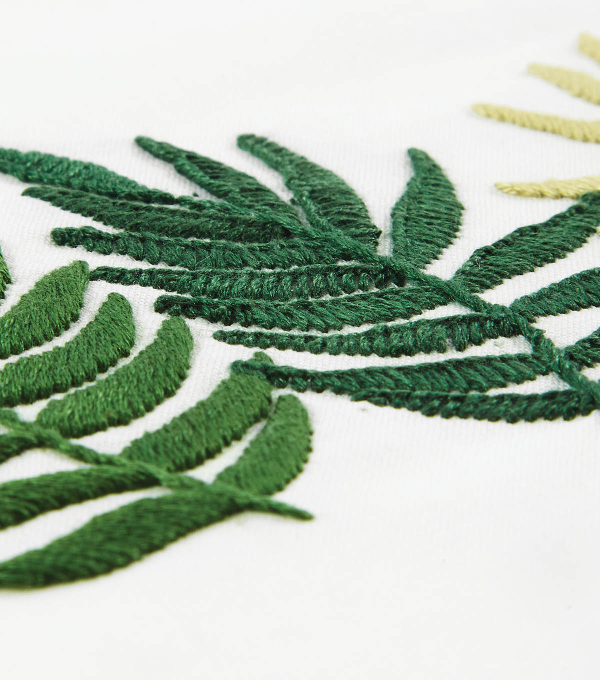 Make Embroidery Pattern How To Make A Triple Fern Embroidery Joann
