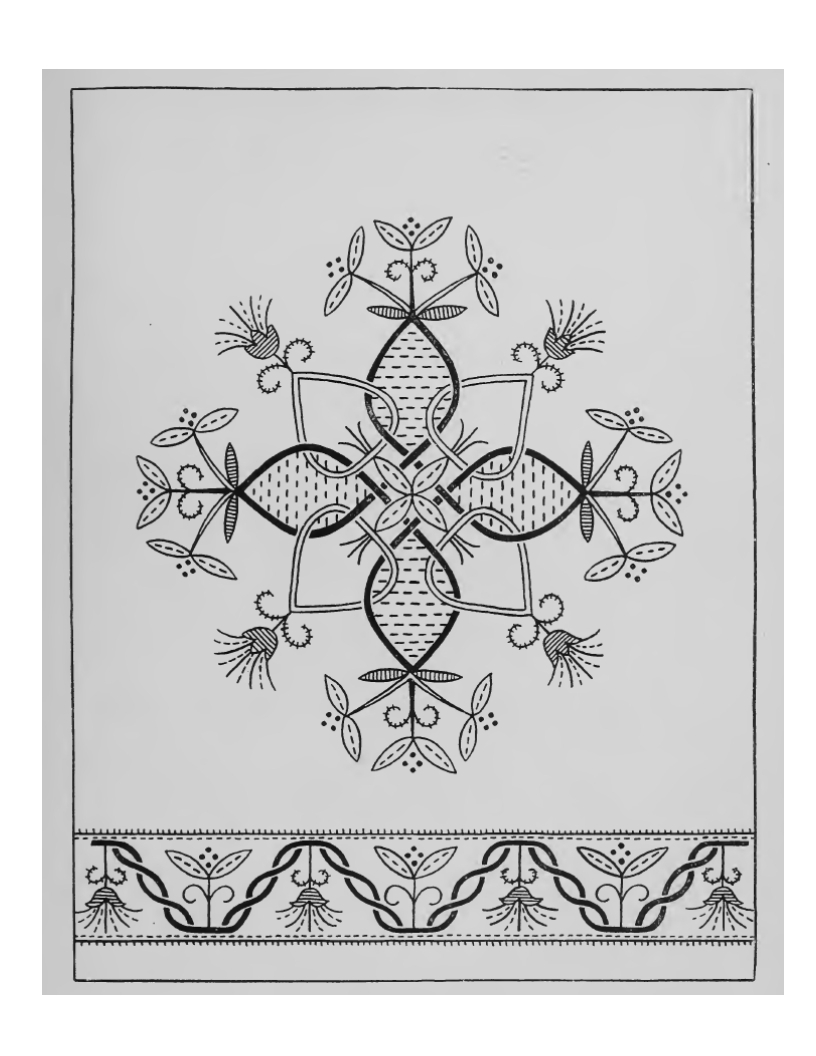 Make Embroidery Pattern Make Your Own Designs Antique Floral Embroidery Patterns Vintage