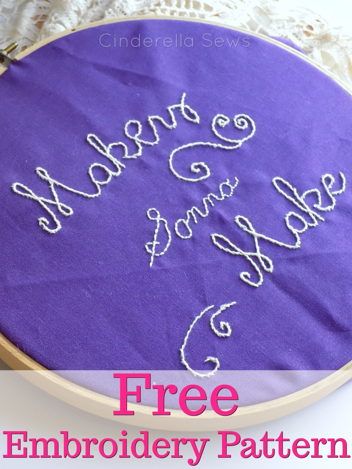 Make Embroidery Pattern Makers Gonna Make Embroidery Pattern