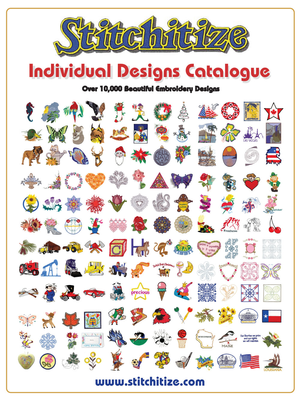 Nautical Embroidery Patterns Custom Embroidery Designs Stitchitize Printable Catalogues