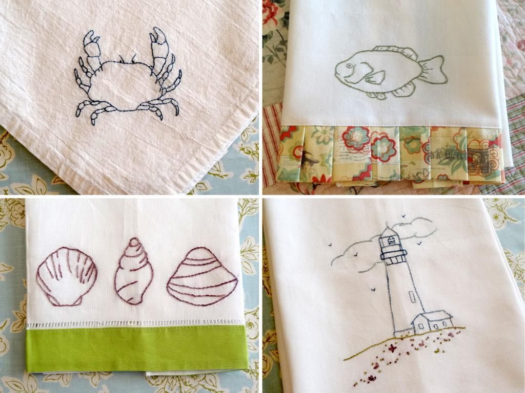 Nautical Embroidery Patterns Ship Ahoy 8 Nautical Themed Embroidery Patterns