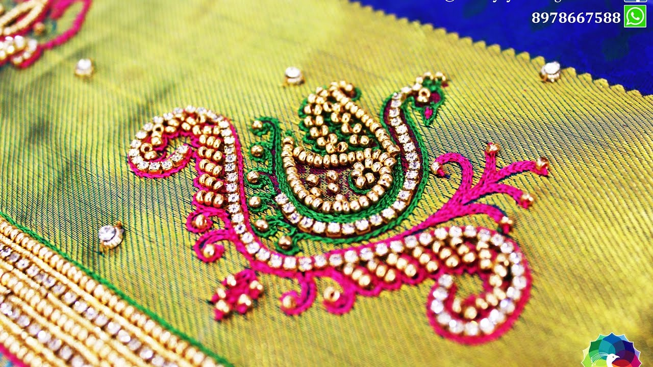 Peacock Embroidery Patterns Peacock Designs In Various Hand Embroidery
