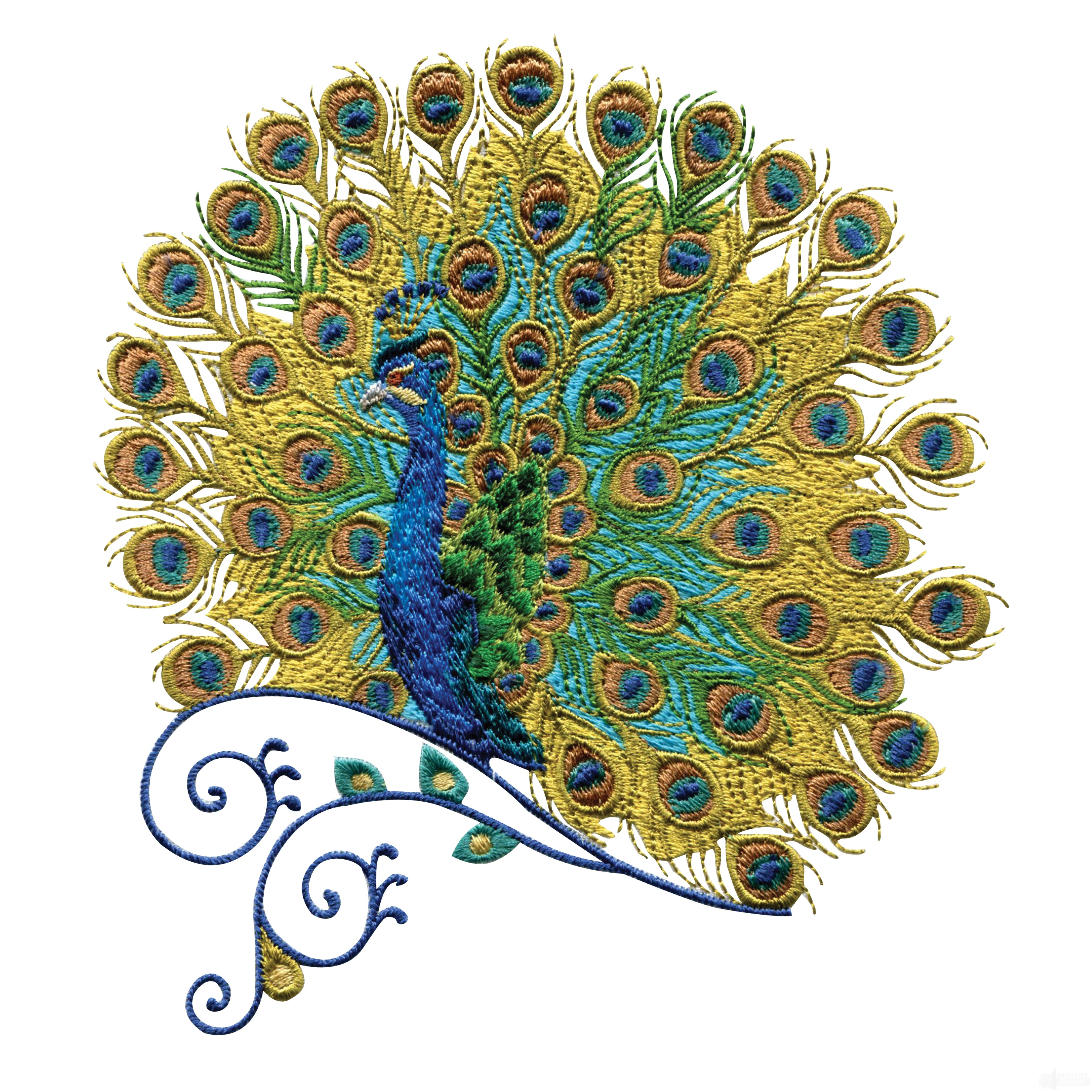Peacock Hand Embroidery Pattern Embroidery Designs Aynise Benne
