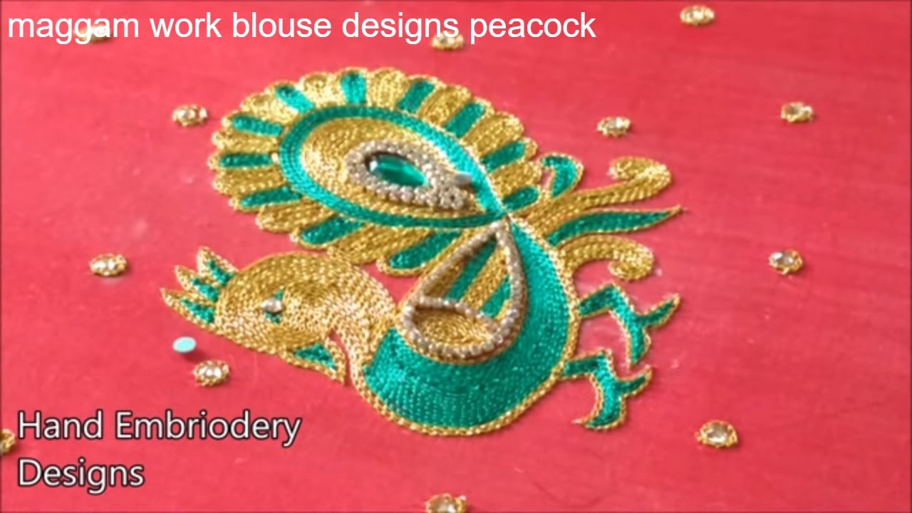 Peacock Hand Embroidery Pattern Hand Embroidery Designs Hand Embroidery Designs For Beginnerspeacock Embroidery Designs For Blouse