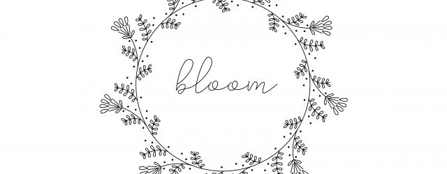 Printable Embroidery Patterns Free Vintage Inspired Bloom Embroidery Pattern