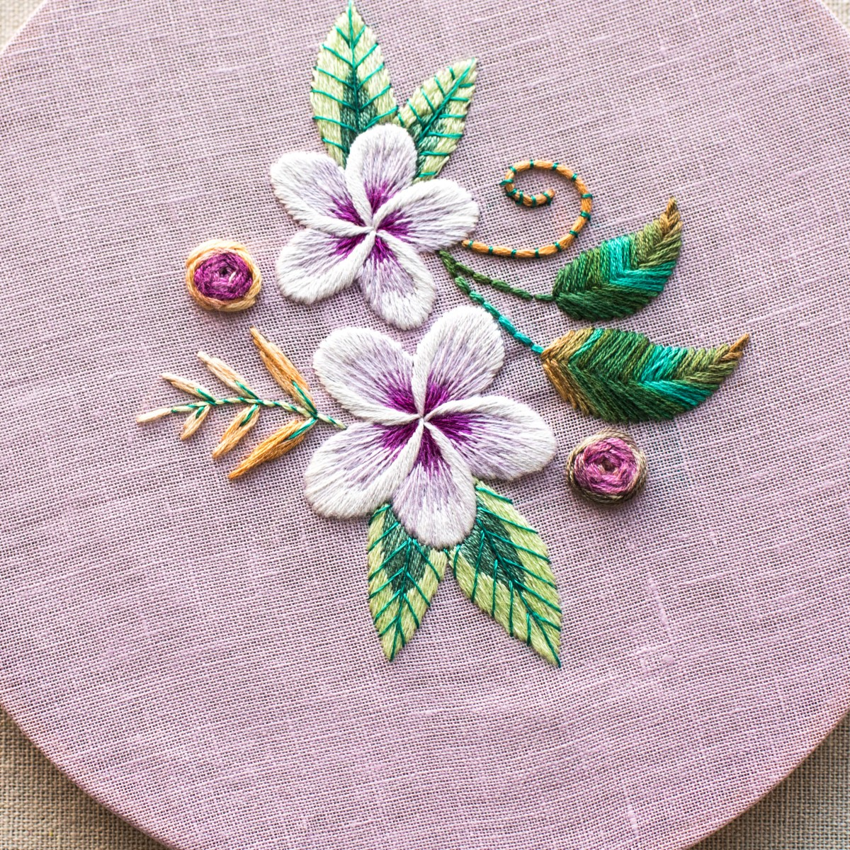 Rose Patterns For Embroidery 7 Beautiful Ways To Hand Embroider Flowers