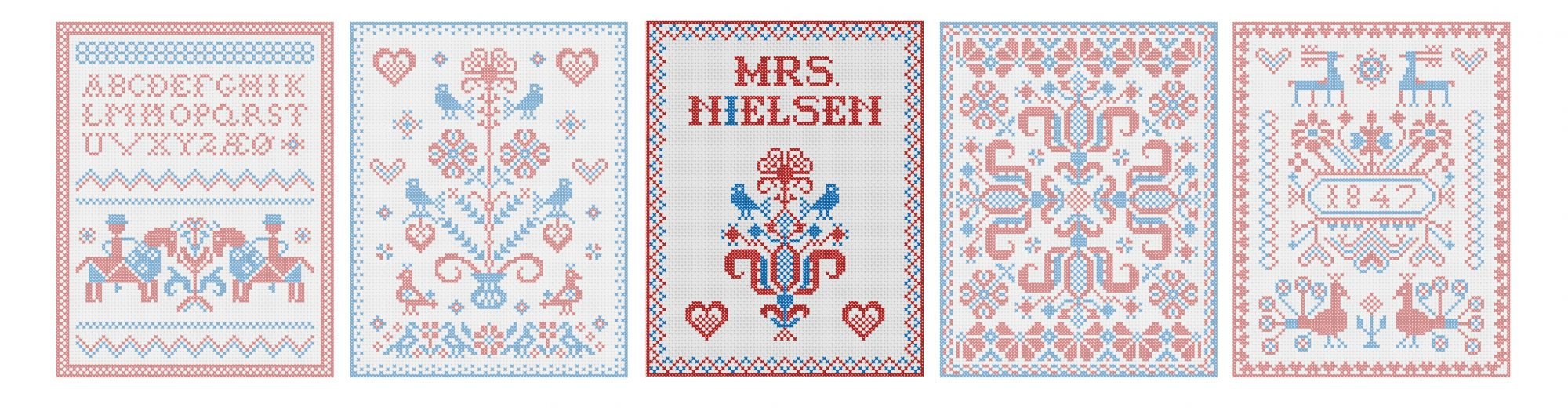 Scandinavian Embroidery Patterns A New Year And Some Thoughts Mrs Nielsen Embroidery