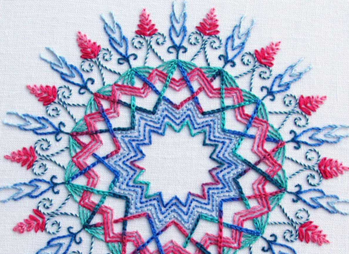 Stamped Embroidery Patterns 8 Embroidery Patterns And Kits For Advanced Stitchers