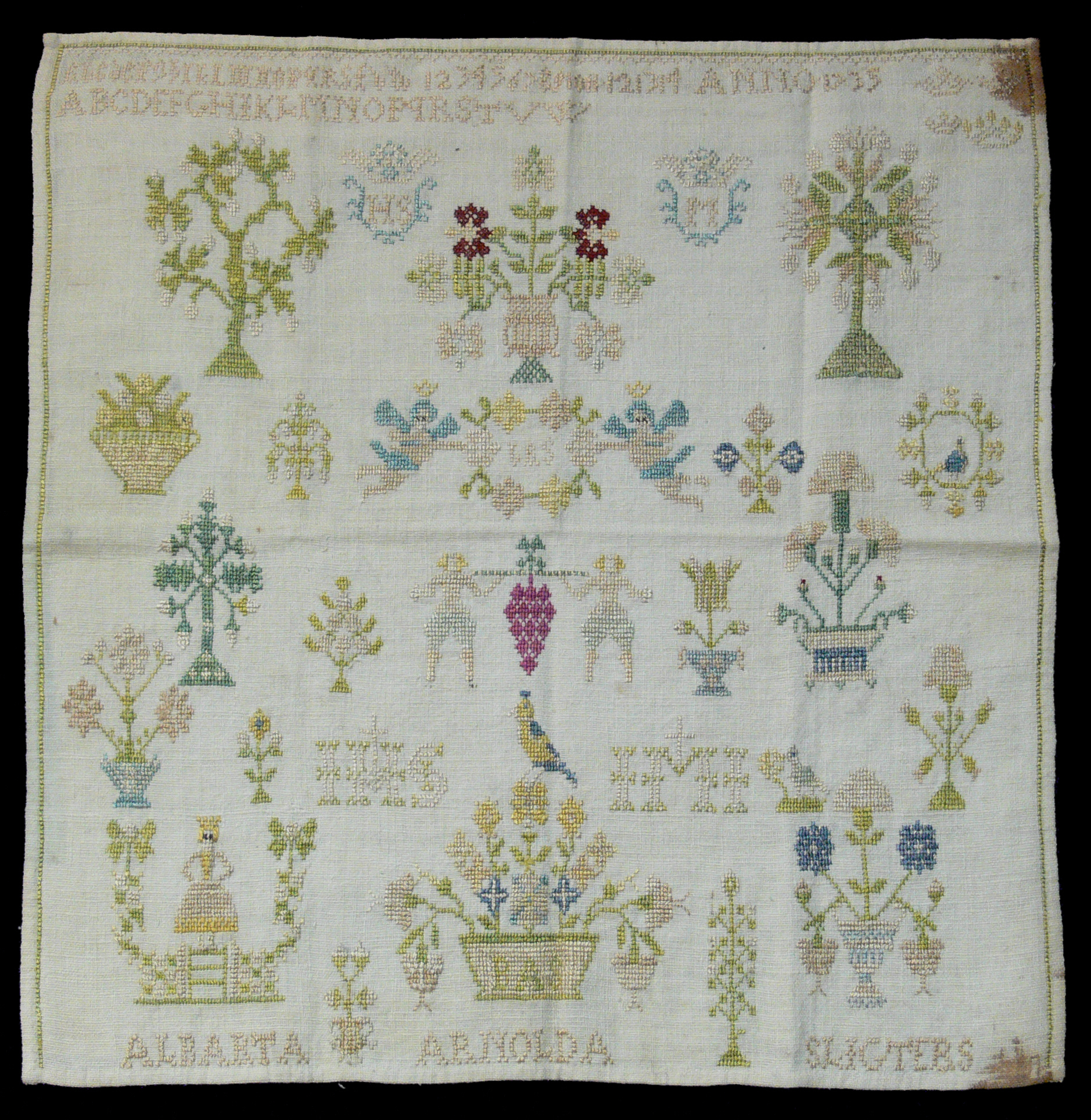 Stamped Embroidery Patterns Cross Stitch Wikipedia