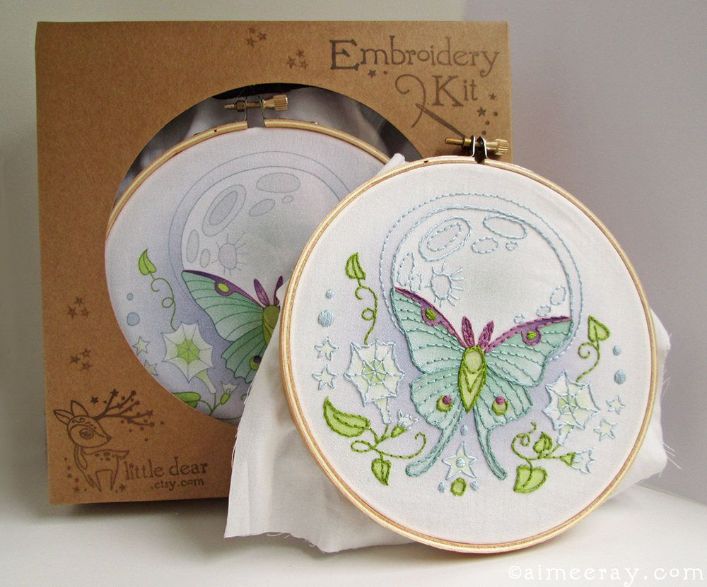 Stamped Embroidery Patterns The Best Embroidery Kits To Buy For Beginners