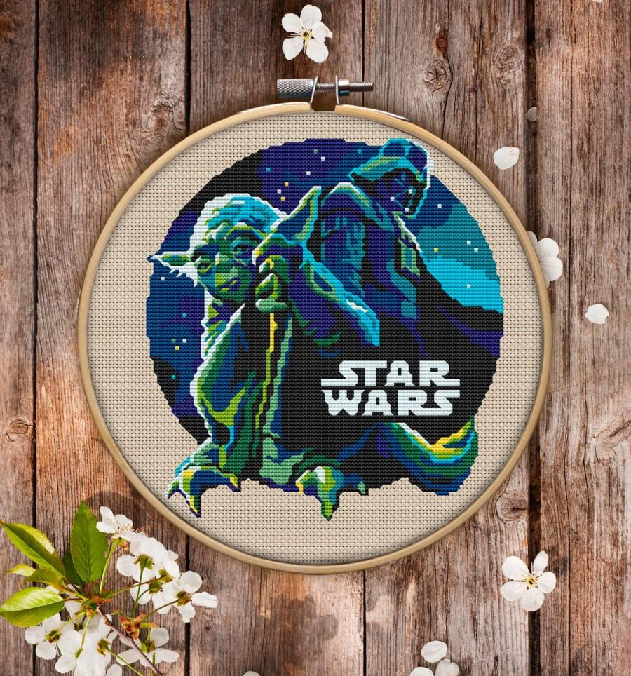 Star Wars Embroidery Pattern Star Wars Cross Stitch Pattern For Instant Download 061 2719261