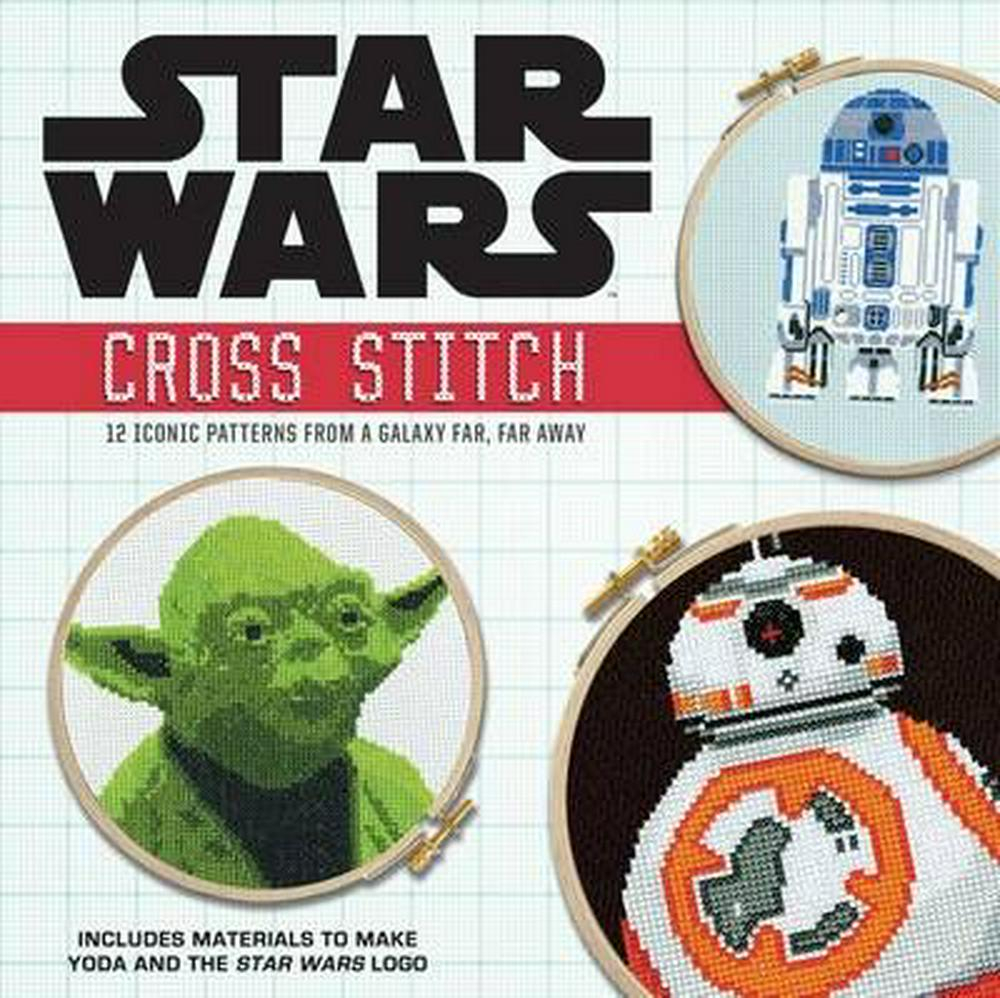 Star Wars Embroidery Pattern Star Wars Cross Stitch