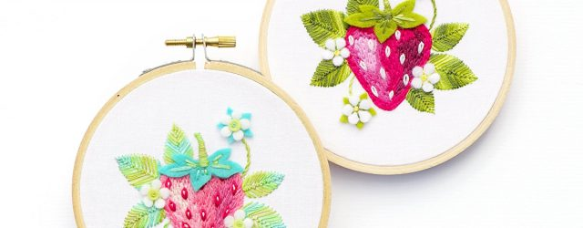 Strawberry Embroidery Pattern Embroidery Pattern Pdf Strawberry Pattern Hand Embroidery Patterns Embroidery Pattern Embroidery Pdf Strawberry Hoop Art Food Art